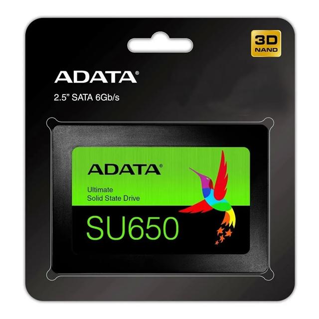 SSD ADATA para comparar diferença entre HD e SSD.