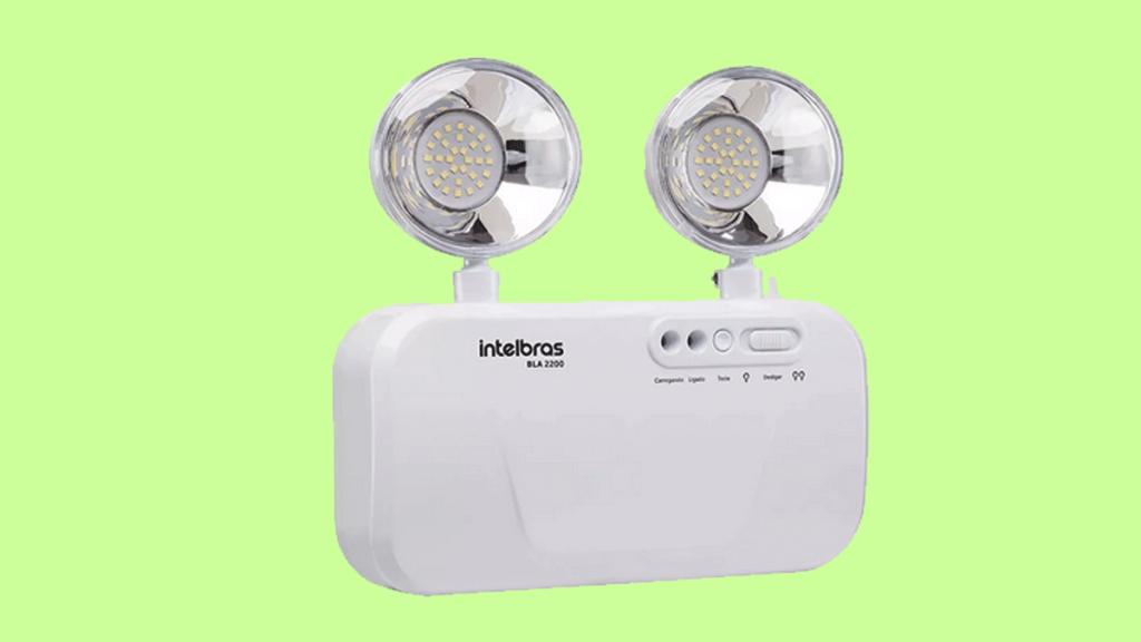 Bloco de Iluminação de Emergência Intelbras BLA 2200