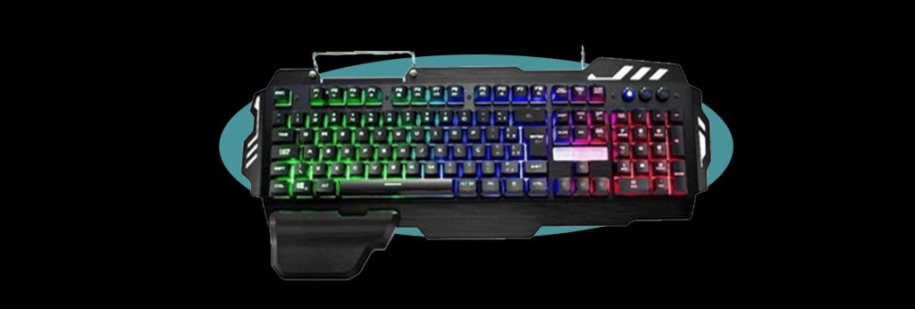 Demonstração com teclado gamer da Multilaser