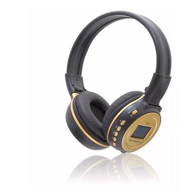 Fone Headphone Bluetooth com Visor Luminoso
