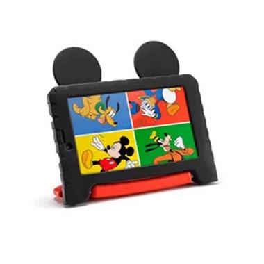 Tablet Infantil da Multilaser com capa do Mickey Mouse