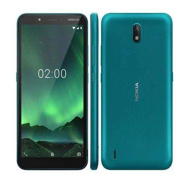 Celular Smartphone Nokia C2 Verde Ciano